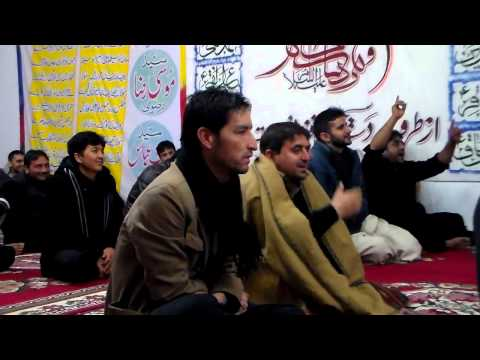 Rubaiyan poetry on MOLA ALI(a.s.) by ismat-ullah at Macerata 2013-2014 Muharram 1435 AH
