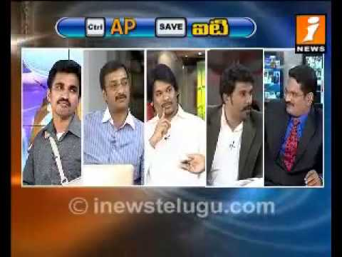 TAFians participate in a Live Debate on I News on Save IT = Save Hyd August 26, 2013