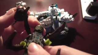 Lego Chima Rogons Rock Flinger Review!! 2014 Set!!