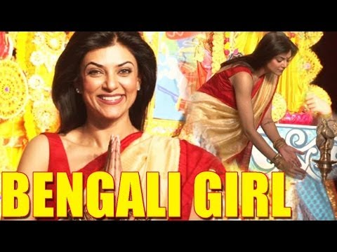 Sushmita Sen Hot Bengali Saree