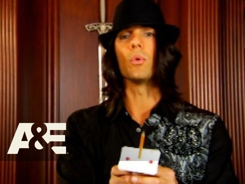 Criss Angel Mindfreak: Teach a Trick - The Pencil Stab | A&E