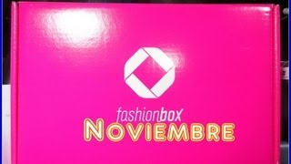 Fashion Box Noviembre