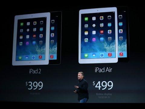 Ipad air от apple тоньше легче и быстрее
