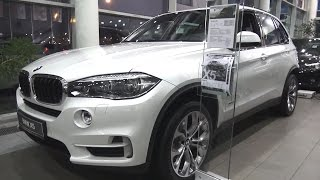 2016 BMW X5 xDrive30d (F15). Обзор (интерьер, экстерьер, двигатель).. MegaRetr