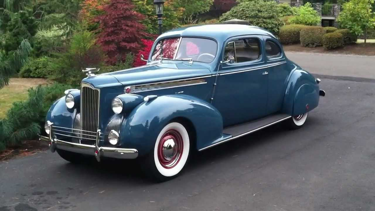 1940 Packard 120 Coupe Walkaround Tour Youtube