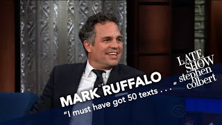 Mark Ruffalo Live-Streamed An Early 'Thor' Screening