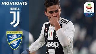 15/02/2019 - Campionato di Serie A - Juventus-Frosinone 3-0, gli highlights