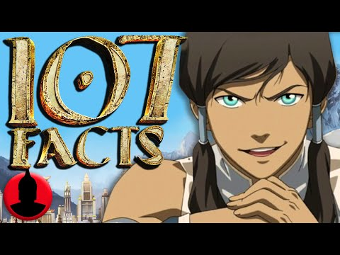 107 Legend of Korra Facts YOU Should Know - (ToonedUp #135) | ChannelFrederator