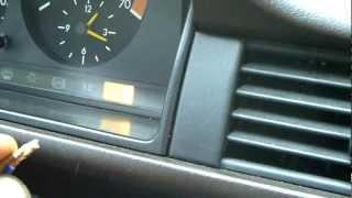 Mercedes W124 ASD Fehlerspeicher Auslesen & Löschen