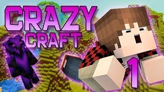 Minecraft: Crazy Craft Modded Survival Playthrough W/Mitch