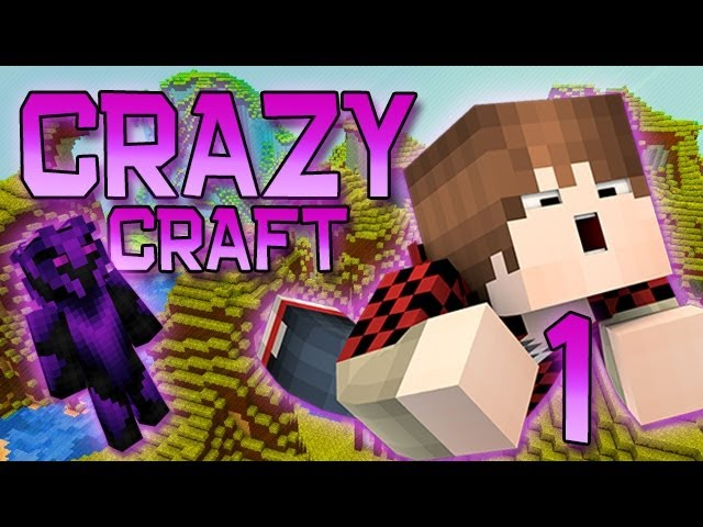 Minecraft: Crazy Craft Modded Survival Playthrough w/Mitch! Ep. 1 - HOW TO TRANSFORM!