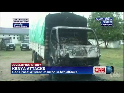 "Gunmen Kill ""TWENTY-TWO"" At Kenyan Police Station"
