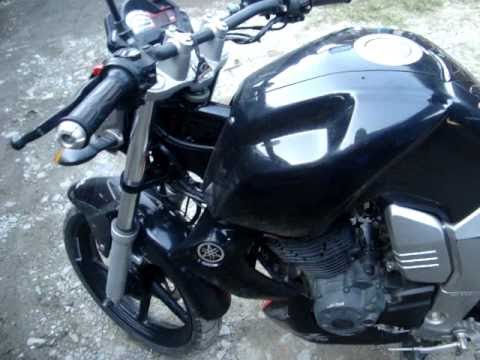 Nautilus Stebel Air Horn, Chrome en Yamaha FZ16.