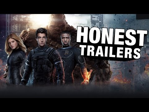 Honest Trailer - Fantastic Four (2015)