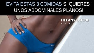 Si quieres un abdomen plano evita estas 3 comidas