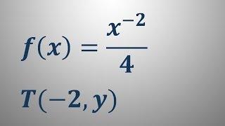 Enačba tangente v točki – naloga 2