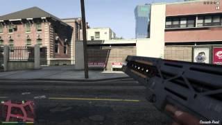GTA V Como Conseguir Arma De Rayos Modo Libre Fusil