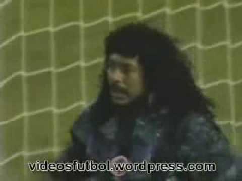 Higuita - El Escorpión en Wembley