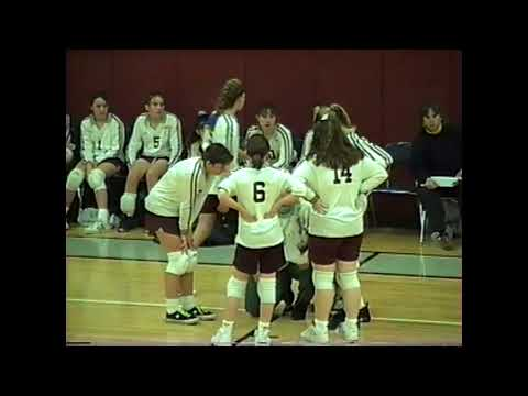 NCCS - Plattsburgh JV Volleyball 1-15-96