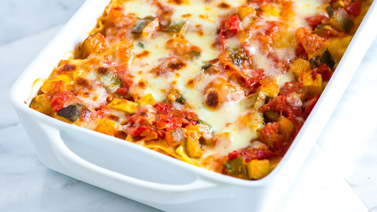 ... to Make Fresh Vegetable Lasagna - Vegetable Lasagna Recipe - YouTube