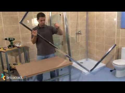 Instalar una mampara de ducha (BricocrackTV)