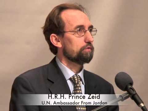 7th IHLD (2013): Prince Zeid Presentation