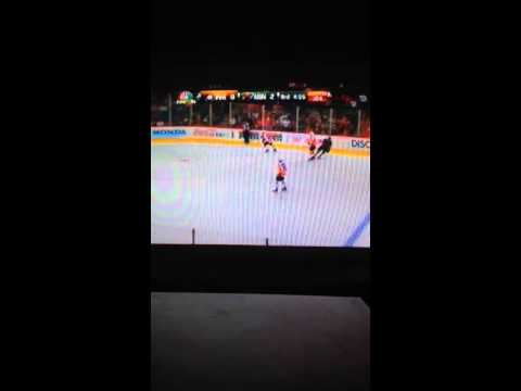 Philadelphia Flyers vs Minnesota Wild 12/2/2013 part 5