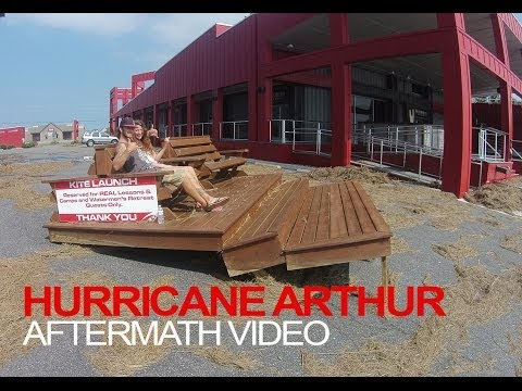 HURRICANE ARTHUR AFTERMATH by Drone Camps RC