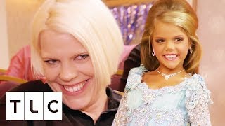 Mum Waxes Her 9 Year Old Daughter's Eyebrows   Toddlers & Tiaras