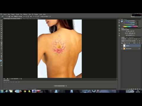 Aplicando tatuagem sobre suas fotos efeito realista(Photoshop)