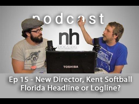nickhallcomedy Podcast Ep 15 - New Kent Murphy Director, Florida Headline or Movie Logline Game