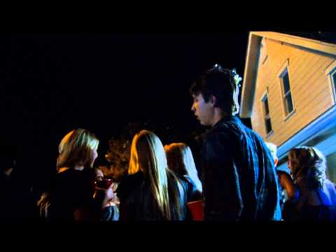 Project X - Dog tied to balloons scene
