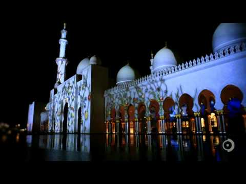 Sheikh Zayed Grand Mosque Projections -wlCSP8HrI8k