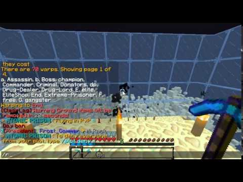 Minecraft Server Review OP Prison 1 7 2,1 7 4,1 7 10 No Premium