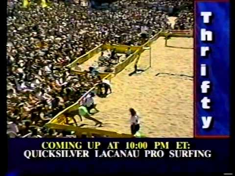 AVP Volleyball 1991 Santa Cruz Final