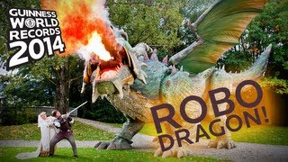 Fire Breathing Dragon is the World's Largest Robot
