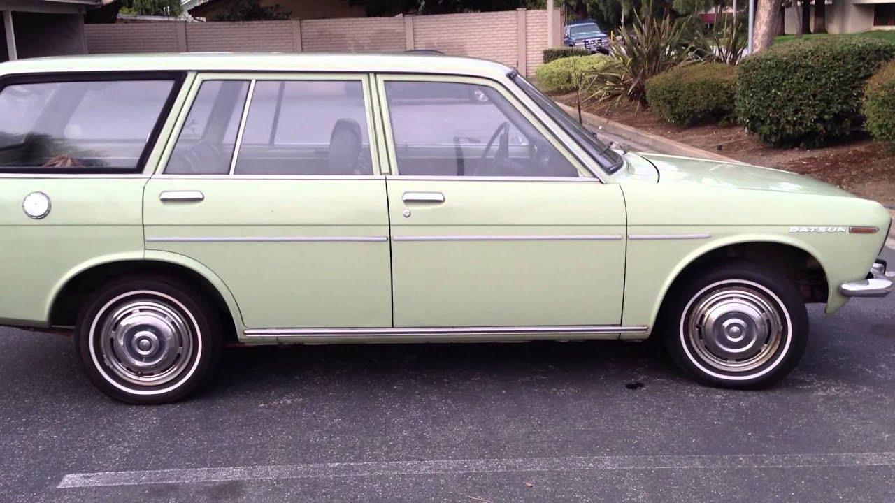 1969 Datsun 510 Wagon For Sale - Walkaround - YouTube