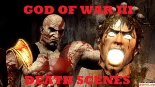 God Of War III Death Scene Compilation