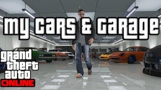 "GTA 5 Online Garage Show Case ""GTA Online"" 10 Car Garage"