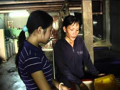 KVS Năm 4 (CT.Số 21) Hoàn cảnh gia đình Cô Nguyễn Thị Huê, Hà Tiên, Kiên Giang