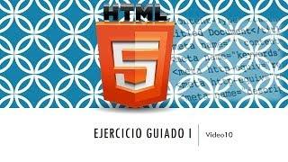 Curso de HTML 5. Parte 10