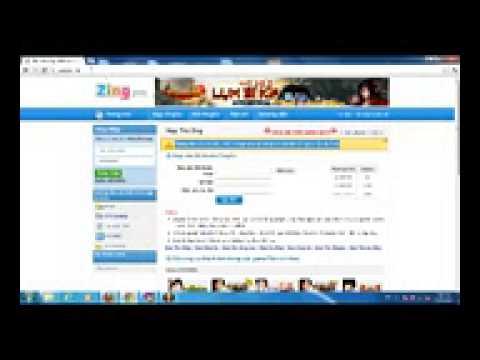 Napzingpay.com Huong dan Nap Zing Xu Zing Pay Pay Zing Vn