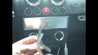 Audi TT Stereo Removal / Install And Others