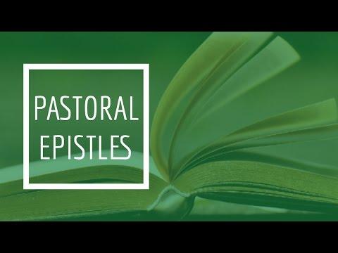 (8) Pastoral Epistles - I Timothy 5:1-16
