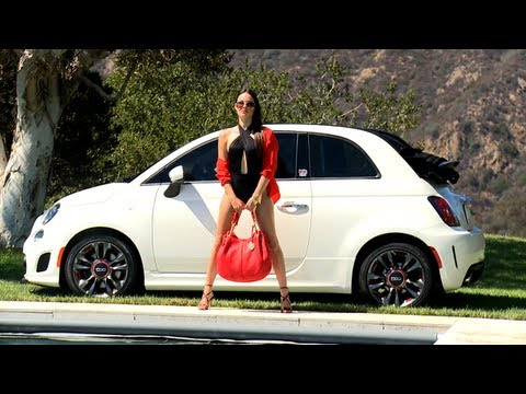Fiat 500c GQ Edition Behind the Scenes Photo Shoot