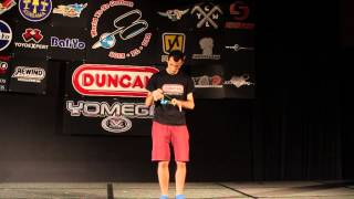 World Yo-Yo Contest Champion, Janos Karancz, 2013