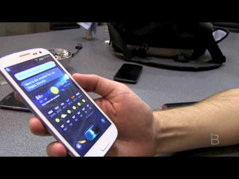 Galaxy S III S Voice Demo - Better Than Siri?