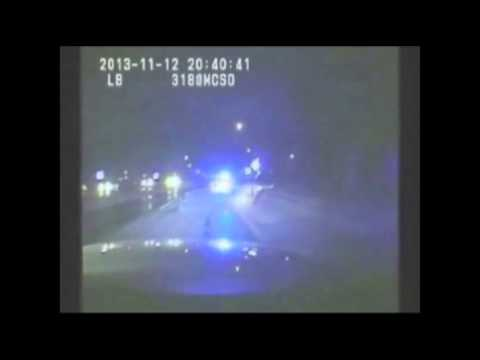 Texas police chase after errant kangaroo