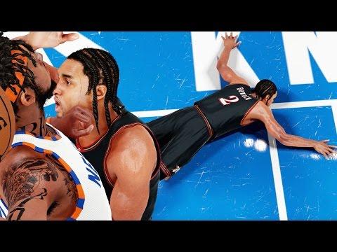 NBA 2k16 My Career Gameplay Ep. 31 - POSTER DUNK KILLS ROOKIE! Bridges Unstopable