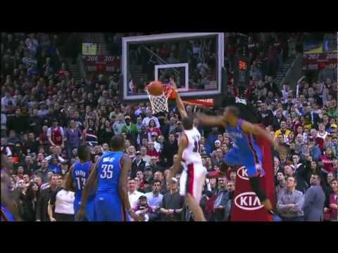 NBA Highlights: Best Plays of the 2011 - 2012 Regular Season